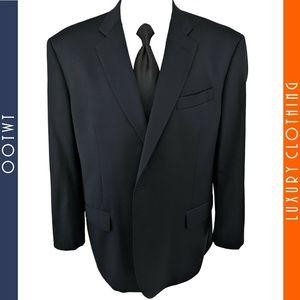 BROOKS BROTHERS 48R Blue Madison Sport Coat Jacket